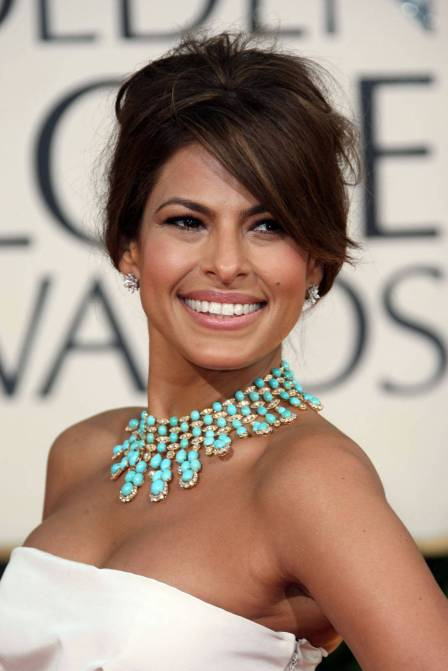 Eva Mendes - one of my wedding make-up inspiration photos